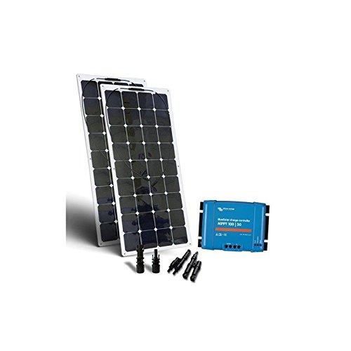 SolarBoot Kit 240W 12V Base3 Solarmodule Flexibel SolarLaderegler Marine Boot (Schiff Treiber)