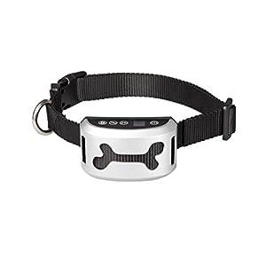 Innovu - Collier anti-aboiements pour dresser votre chien - Non cruel car il n'envoie pas de chocs - Émet uniquement des sons et des vibrations - Choix parmi 7 niveaux de sensibilité - Design ergonomique pour toutes les tailles de chiens - Très facile à u