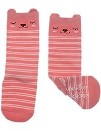 MagiDeal Unisex Baby Knee High Socks Stockings Cartoon Non Slip Tube Long Socks For 0-3 Years