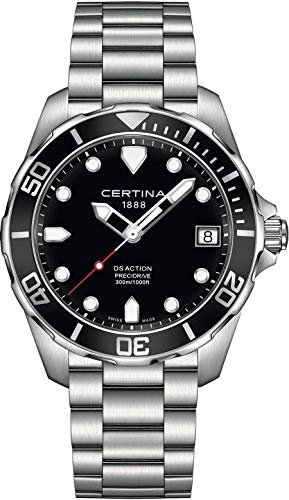 Certina DS Action Herren-Armbanduhr 41mm Batterie C032.410.11.051.00