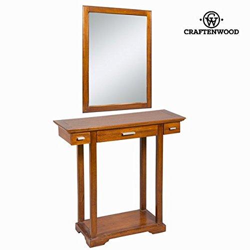 Console ingresso con specchio coloniale - Serious Line Collezione by Craften Wood (1000026228)