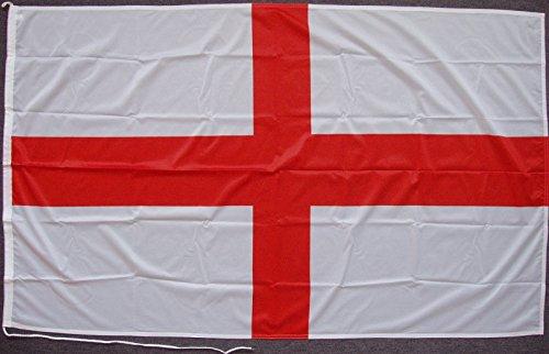 Flagge Fahne England, ca. 150 x 250 cm, 160 g/m² Polyesterwebware Premiumqualität