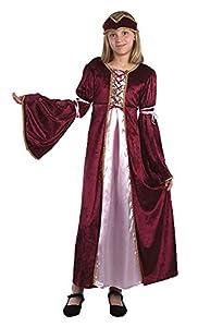 Bristol Novelty Traje Princesa del Renacimiento (L) Edad aprox 9-11 años
