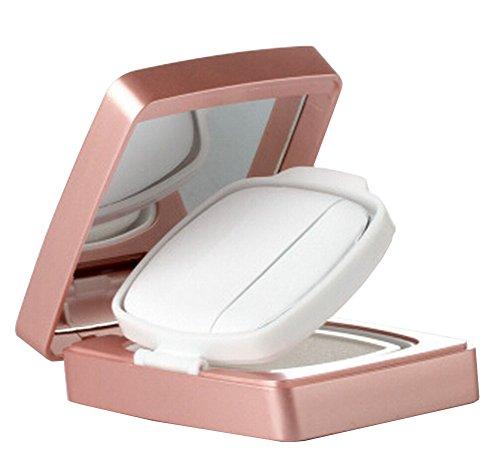 Coussin d'air portable vide Caisse de soufflage BB Cream Container [Rose]