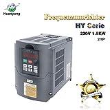Frequenzumrichter (VFD),Computerized Numerical Control (CNC), der Motor Inverter Konverter 220V 1.5KW 2HP für Spindelmotor, Kontrolle der Geschwindigkeit, Huanyang HY –Serie (220V,1.5KW).