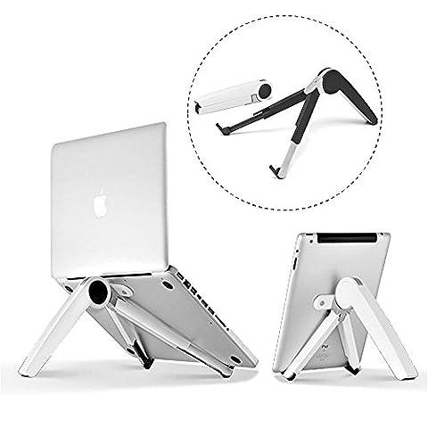 8 Support d'ordinateur portable réglable réglable pour ordinateur portable Ordinateur