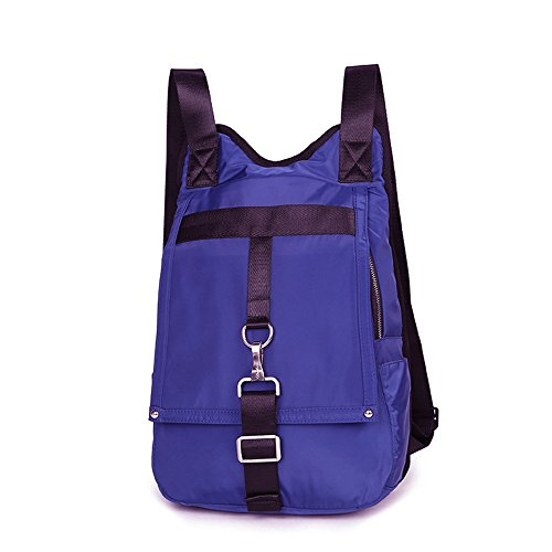 Wasserdichte Nylon Casual School Rucksack Reise Laptop Tasche Schultasche Leichte Rucksäcke Violett