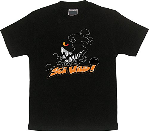 Wilde Kerle T-Shirt SEI WILD Limited Edition - Dea Kostüm Herren