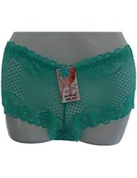 Shorty / Boxer / Culotte Femme en Dentelle - Petillance (B5155)
