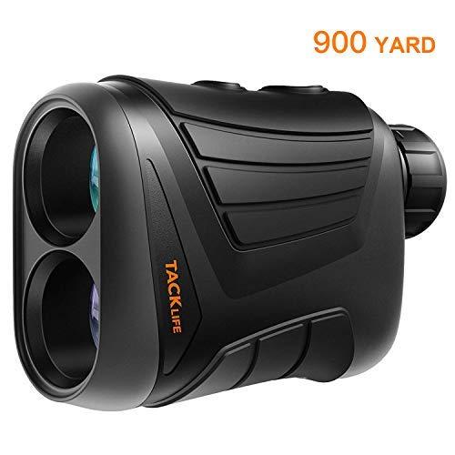 TACKLIFE Laser Entfernungsmesser 900 Yard - Entfernungsmesser mit Reichweite/Geschwindigkeit/Scan-Modell, USB-Aufladen, 1/4 Zoll Befestigungsgewinde für Jagd, Wandern - MLR-01, MLR-01