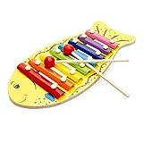 OFKPO Kinder Xylophon Instrument Spielzeug,8 Ton Musikinstrument für Lernen und Bildung