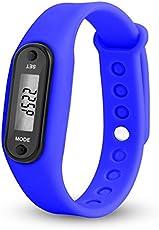 Tianu LCD Display sport orologio digitale, contapassi, calorie distanza calcolo per camminare corsa fitness