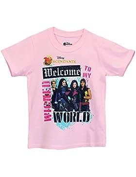 Descendants Mädchen Disney Descendants T-Shirt Kurzarm