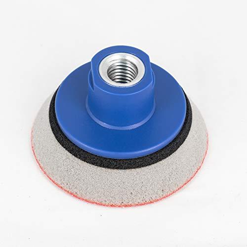 Schleifteller 75 mm KLETT für Winkelschleifer mit M14 | EXTRA WEICH Schaum | Polierteller für Schleifscheiben/Polierschwämme - Stützteller in allen Größen - DFS