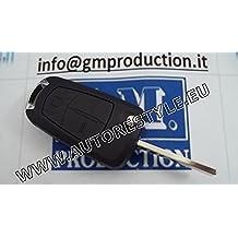 G.M. Production opel05 – Carcasa de llaves de mandos a distancia de recambio para Opel (