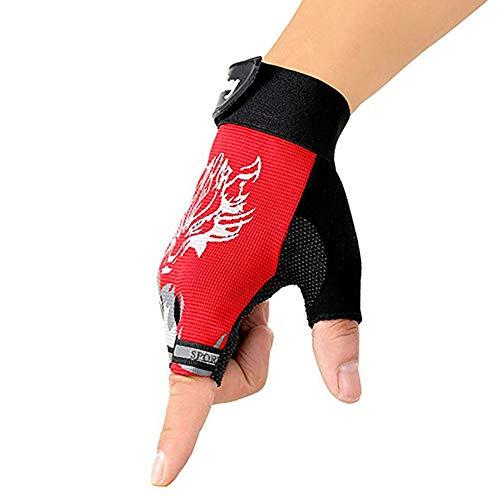 Garra del monstruo del motocrós de equitación guantes de moto motocicleta Cavalier, red, xl