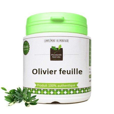 Olivier feuille1000 gélules gélatine végétale