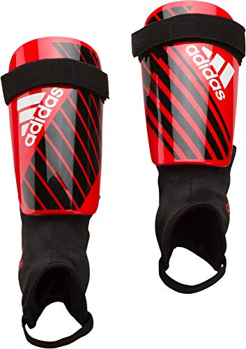 adidas X Club Shin Guards, Active red/Black/Off White, S