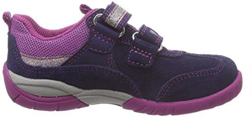 Superfit - Sport3, Sneaker basse Bambina Blu (Blau (COSMOS KOMBI 91))