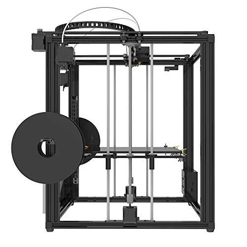 TRONXY X5ST-2E 3D-Drucker 2 in 1 Out-Extrusions-Bausatz, Filament-Sensor-Resume-Druckwürfel-Vollmetallquadrat mit 3,5-Zoll-Touchscreen Großes Druckformat 330 * 330 * 400 - 6