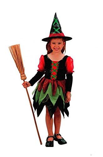Kleine Hexe Kinderkostüm, Infant: 80-92 cm (Euro Carnavales Kostüme)