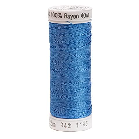 Sulky Rayon Thread for Sewing, 250-Yard, Blue by Sulky