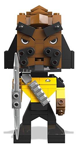 Mattel Mega Bloks DTW68 Kubros Star Trek Klingon, Konstruktionsspielzeug