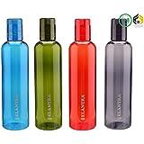 Aarushi Unbrakable Plastic Water Bottles (Pack Of 4) 500 ML