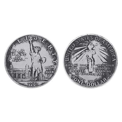 AIYIYOO 1906 Freiheitsstatue Vereinigte Staaten mit Fackel Gedenkmünze, Münzensammler, Genießen Sie die Freude an der Sammlung, Sie verdienen es