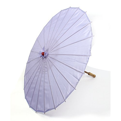 sourcingmap® Bamboo Japanese Style Traditional Manually Dancing Umbrella Parasol 78cm Dia