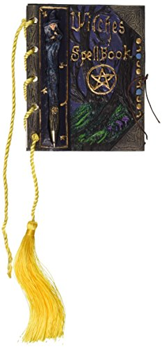 Design Toscano Mystisches Zauberbuch mit Stift