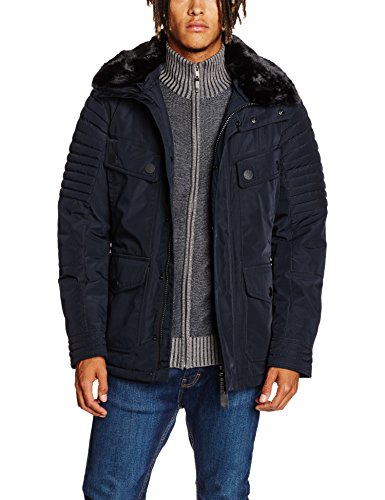 Lights of London Herren Baker Street Jacke, Blau (Dark Navy 009), Small - London Street Lights