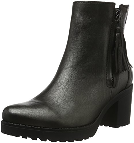 Gabor Shoes 53.761 Damen Halbschaft Stiefel, Grau (Argento 63), 42 EU (8 Damen UK) (Besten Am Boots Ankle)