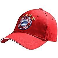"FC Bayern München Baseballcap ""Logo"" rot Kids Kappe 21786"