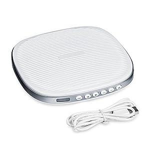 Walfront Schlafhilfe SleepMate, 20 Weißes Geräusch Schlaf Einfach Conditioner Machine Sound Therapy Spa Entspannung Beruhigende Hilfe