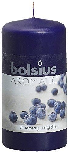 Vela perfumada (12 x 6 cm), aroma de arándano azul