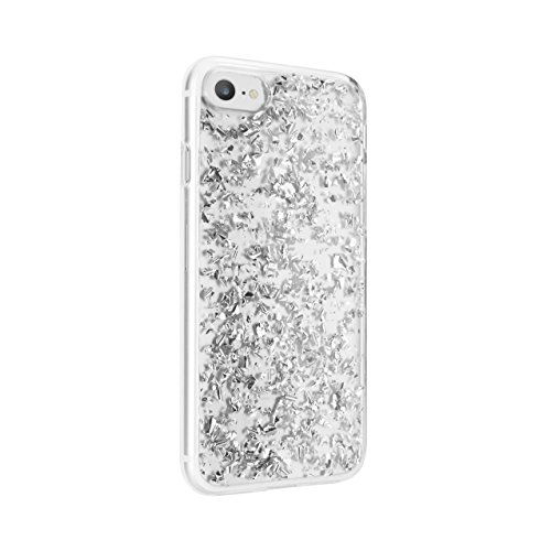 Price comparison product image FLAVR iPlate Flakes for iPhone 6 / 6s / 7 silber Handyhülle / Cover iPhone6 / iphone7