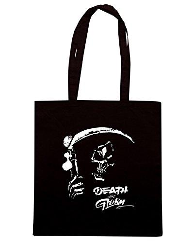 T-Shirtshock - Borsa Shopping TB0085 death or glory Nero