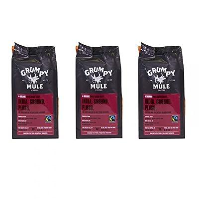 Grumpy Mule Ground Coffee -India Araku Box of 3 227g Packets by Grumpy Mule