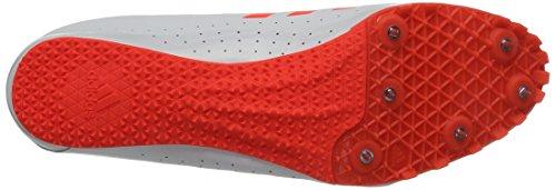 adidas Sprintstar, Scarpe da Atletica Leggera Uomo Rosso (Rojsol/Ftwbla)