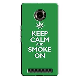 SMOKE ON BACK COVER FOR YU YUPHORIA