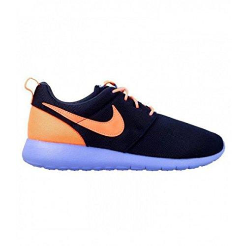 new style a3b35 e3794 Nike Roshe One GS 599729-408, Sneakers Basses Mixte Enfant, Bleu (Navy