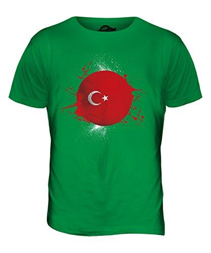 CandyMix Türkei Fußball Herren T Shirt Grün