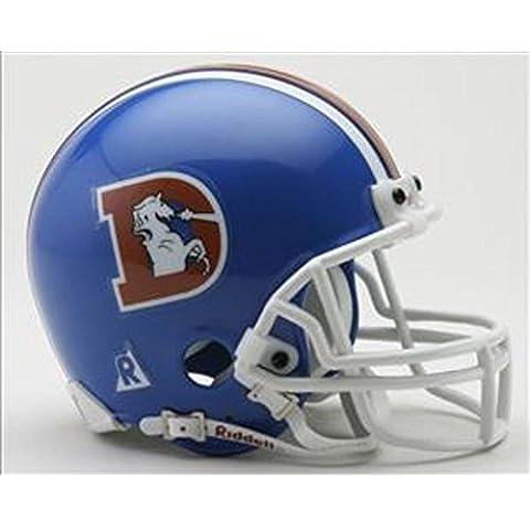 NFL Riddell Denver Broncos 1975-1996 Throwback Replica Mini Helmet by Riddell