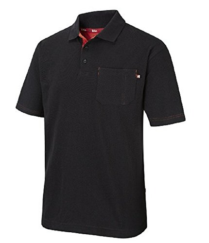 Lee Cooper Workwear Polo Black XXX-Large
