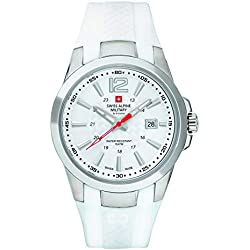 Swiss Alpine Military by Grovana Reloj de hombre blanco 70581833 10 ATM Swiss Made