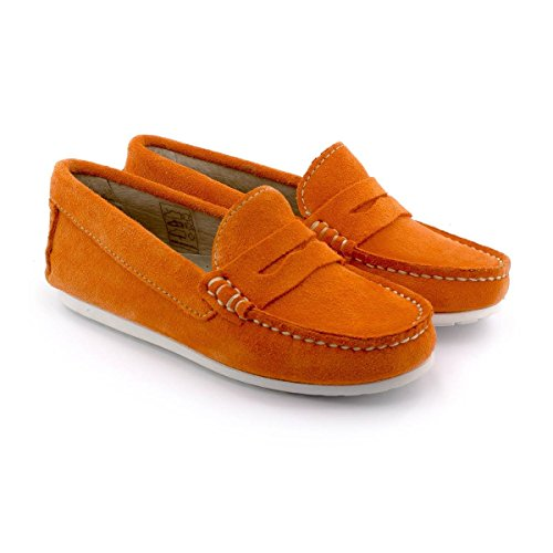 Boni Summer, mocassin enfant Orange