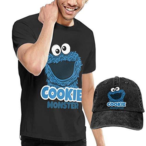 er Herren Komfortabel T-Shirt and Dicer Kombination Black S ()