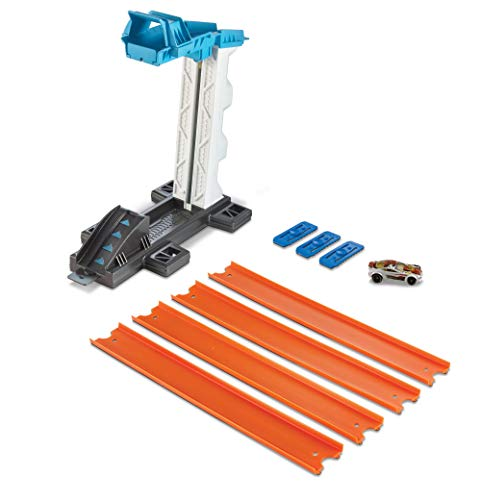 Hot Wheels Track Builder Propulsores, Accesorios para Pistas de Coches de Juguete (Mattel DJD66)