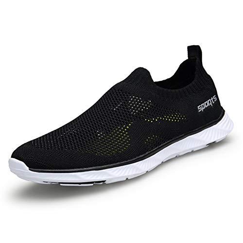 ailishabroy Wassersportschuhe für Damen Herren Sportschuhe für Lässig Flying Weaving Laufschuhe Atmungsaktiv Schnelltrocknung Dämpfung Rutschfester Sneaker für das Training